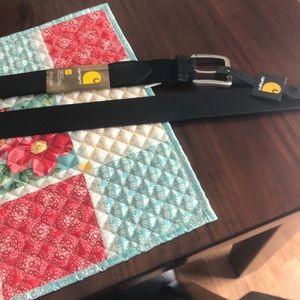 Men's leather Carhartt belt
